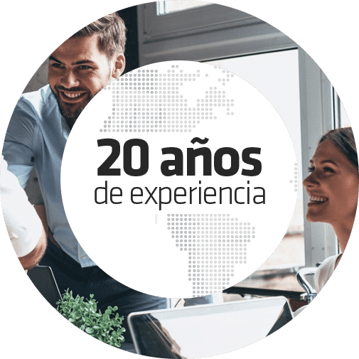 Más de 20 años de experiencia en consultoría y asesoría informática para empresas